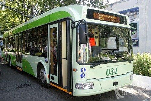 троллейбусов БКМ-321